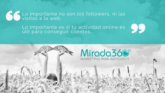 La web es el eje principal de la estrategia de comunicación digital de una firma de abogados.