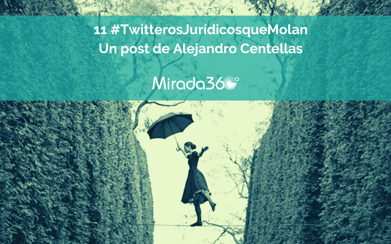 La parcela jurídica de Twitter: los 11 perfiles que deberías seguir 'por derecho'