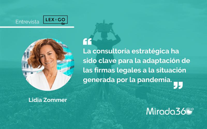"""Lidia Zommer: """"La transformación digital va más allá de hacer lo mismo que estamos haciendo de un modo más fácil, rápido o barato"""""""